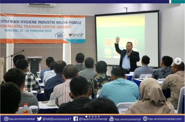 Training dan sertifikasi Hygiene industri muda (HIMu)