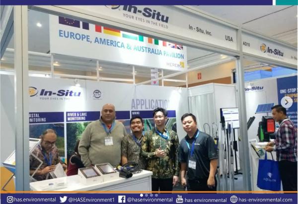 PT Has Environmental bersama In-Situ Inc tampil dalam acara Indowater 2019