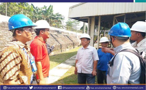 Uji coba pengukuran kualitas air secara online di IndoKordsa oleh PT Has Environmental