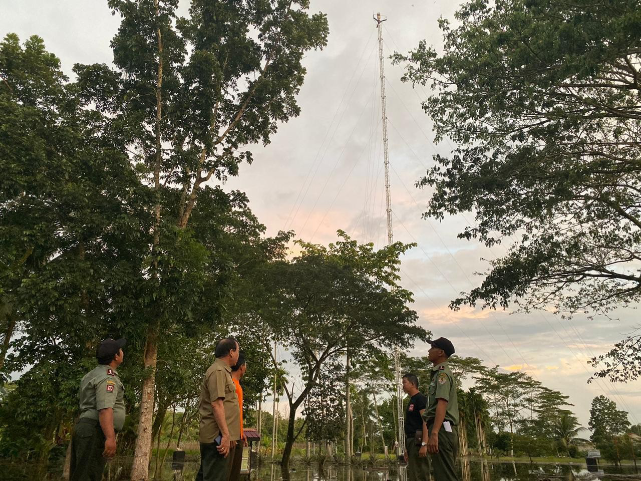 Has Environmental supports MoEF to reduce forest and land fires in Indonesia
